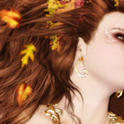 FALL WEBSET 10414-'AUTUMN GODDESS'
