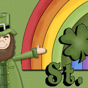OCCASION WEBSET 10364- 'HAPPY ST PATRICK'S DAY!'