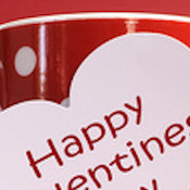 VALENTINES WEB SET 10613- 'HAPPY VALENTINE'S DAY